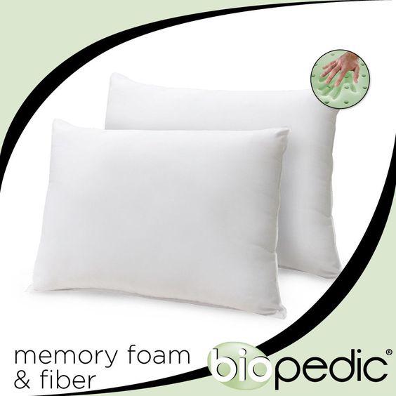 Memory Plus Classic Cotton Bed Pillow