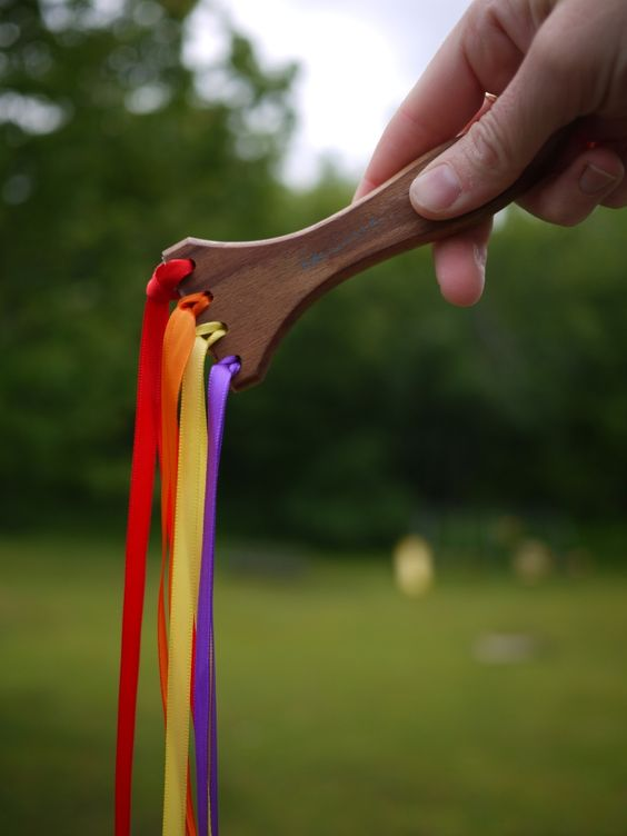Diy magic paintbrush by the handmade adventures of captain for Ribbon wands