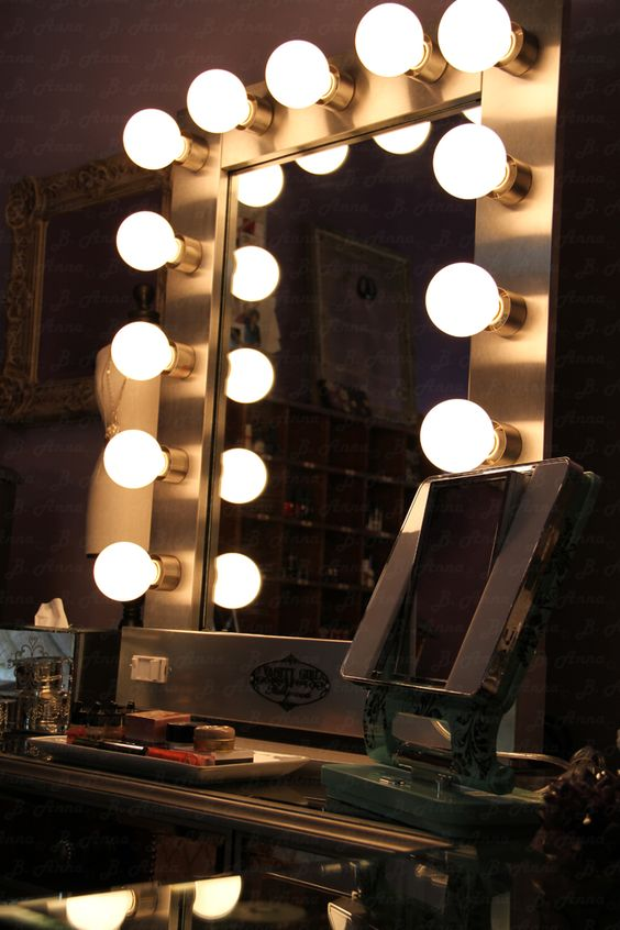 Or I Could Go The Vanity Girl Hollywood Mirror Route In