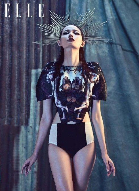 topmodelcentral:  Nguyen Thi Hoang Oanh for Elle Vietnam ~ Vietnam (2) ~