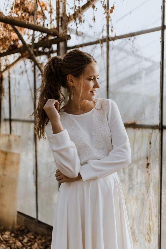Bride sweater Sadie