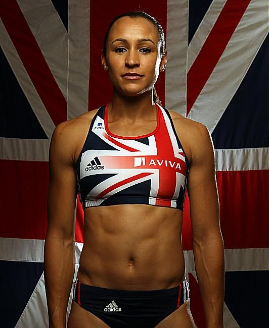 Jessica Ennis- with the hopes of an entire nation riding on her, she gave it everything she had. Gold medalist Women's Heptaholon, London 2012