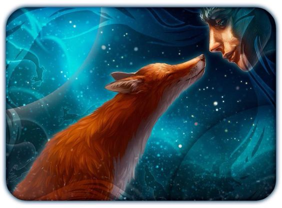 dryad and fox