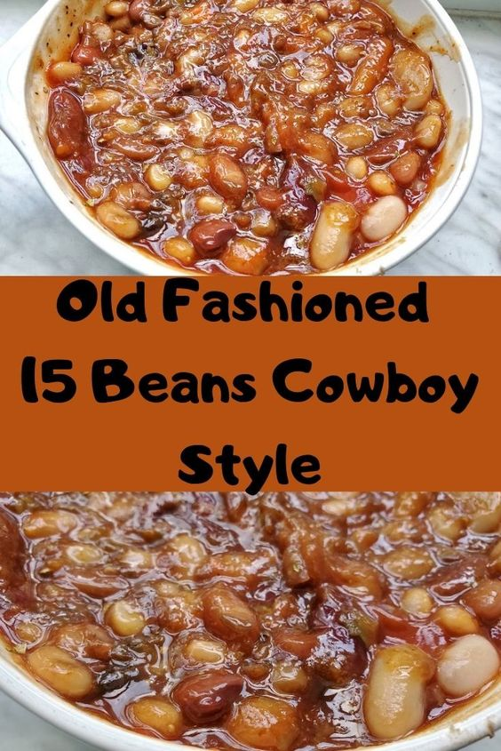 15 Bean Cowboy Barbecued Beans