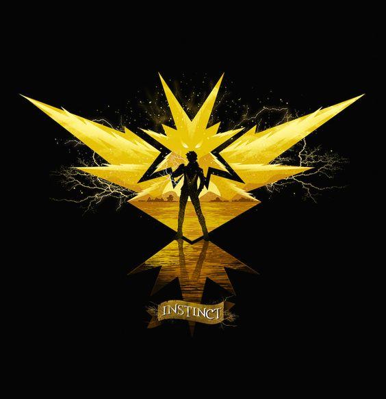 New Fan Art Created by Dan Elijah Farjado   Team Instinct : pokemongo