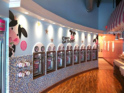 Interior Design of Yogurt Shops - Commercial Interior Design News   Mindful Design Consulting