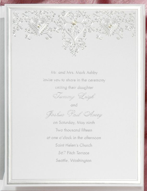 silver invitation invitation link http With wedding invitation online link
