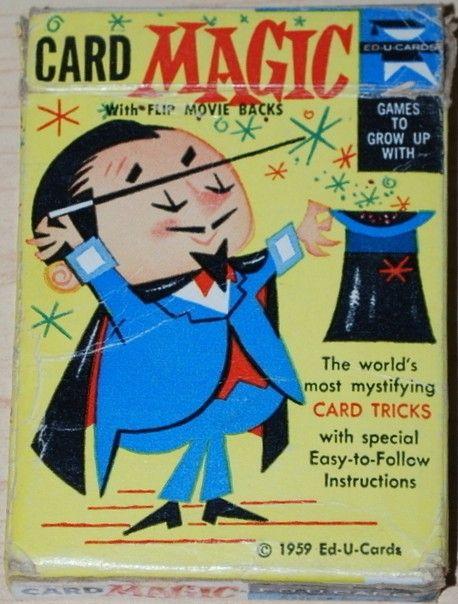 ED-U-CARDS: 1959 Card Magic Trick Deck