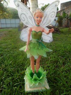 Marry Meias de Seda: Boneca Fada com 50cm para decoração
