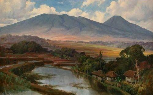 Lukisan Naturalisme Karya Basuki Abdullah Basoeki Abdullah Pemandangan Lukisan Lanskap Seni Rupa Download Lukisa Di 2020 Pemandangan Ilustrasi Zaman Dulu Seniman