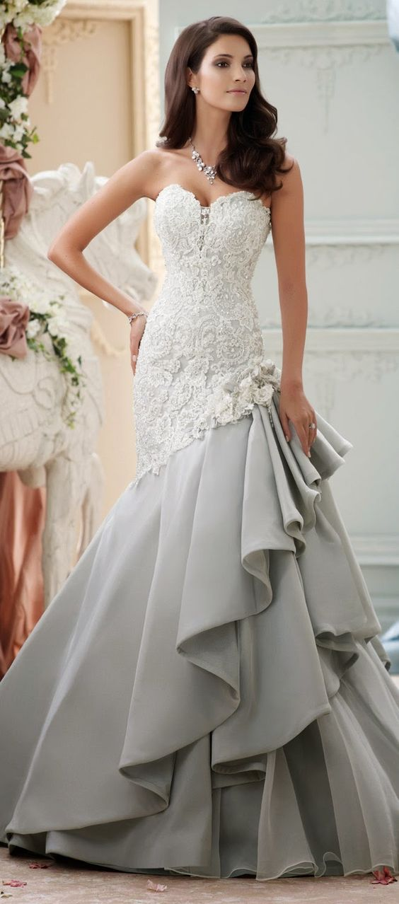 David Tutera for Mon Cheri Spring 2015 Bridal Collection | bellethemagazine.com: