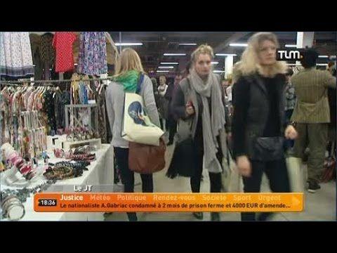 Le marché de la mode vintage (Lyon)