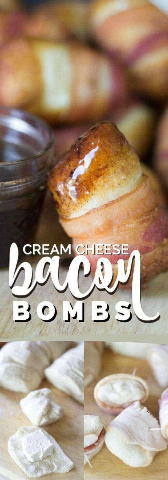Cream Cheese Bacon Bombs