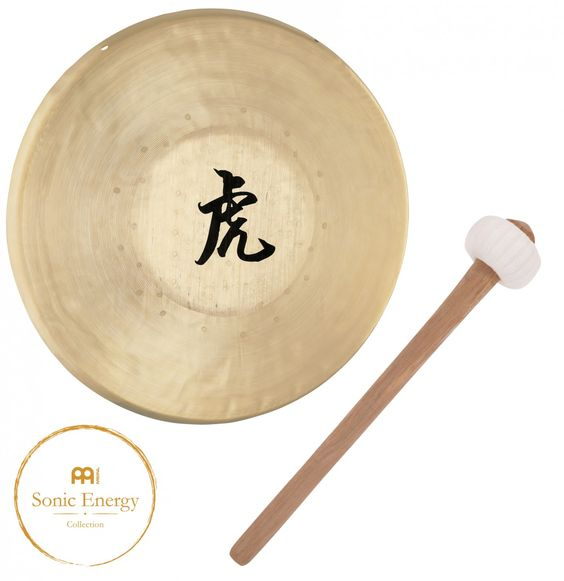 """Meinl Tiger Gong 31,75cm (12,5"""") inclusive Beater, Meinl Sonic Energy, Meinl, Sonic Energy, Gong, Gongs, Tiger Gong, Handcrafted masterpiece, Item No: TG-125"""