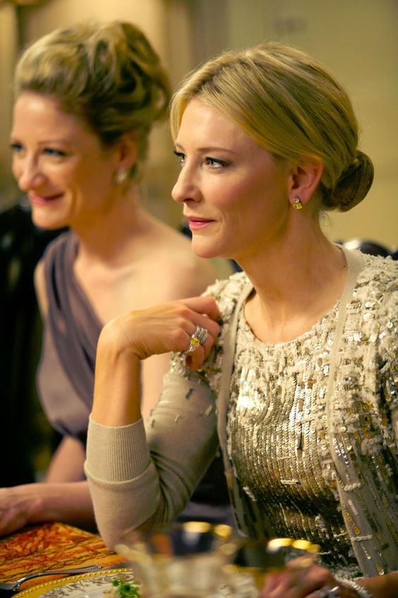 "blue jasmine | Blue Jasmine"" - Alec Baldwin and Cate - Woody is still capable of writing and directing one of the liveliest, funniest and sharpest movies of the year. -Chicago Sun-Times"
