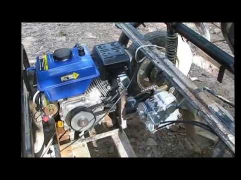Electric Motor Failed In My G22 So I Converted It To An Electric Start Gas Engine The Mod Utili Golf Carts Yamaha Golf Carts Electric Golf Cart