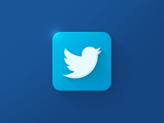 Dribbble - Twitter Icon by Xalion™