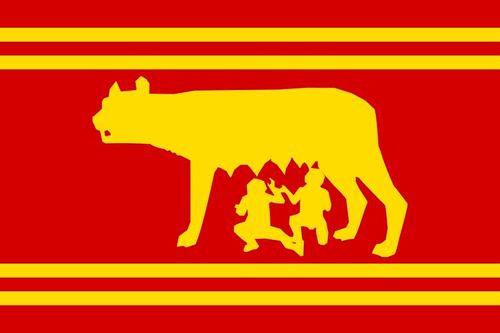 Roman Republic Flag Ancient Rome History Flag Roman Republic