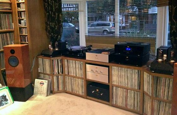 High end audio audiophile music listening room vinyl ...