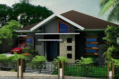 60 Gambar Tampak Depan Rumah Minimalis 1 Lantai Sebuah Rumah Yang Nyaman Selalu Diidentikkan Dengan Rumah Besar D Desain Rumah Bungalow Rumah Minimalis Rumah
