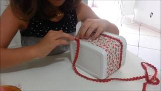 Como reciclar um pote de sorvete | Cantinho do Video