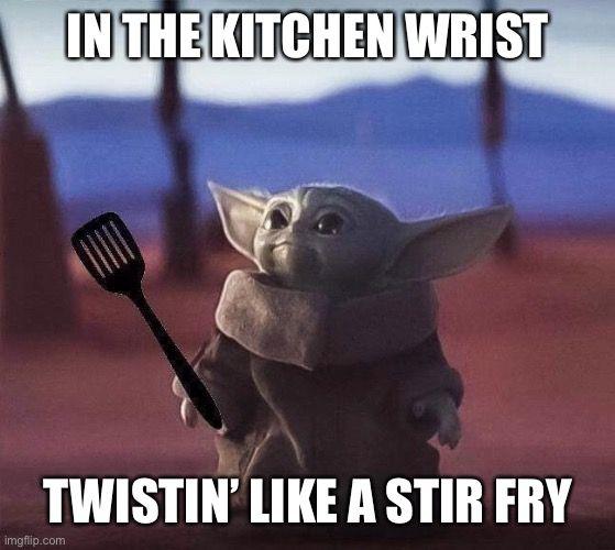 Spatula Baby Yoda Yoda Funny Yoda Wallpaper Yoda Meme