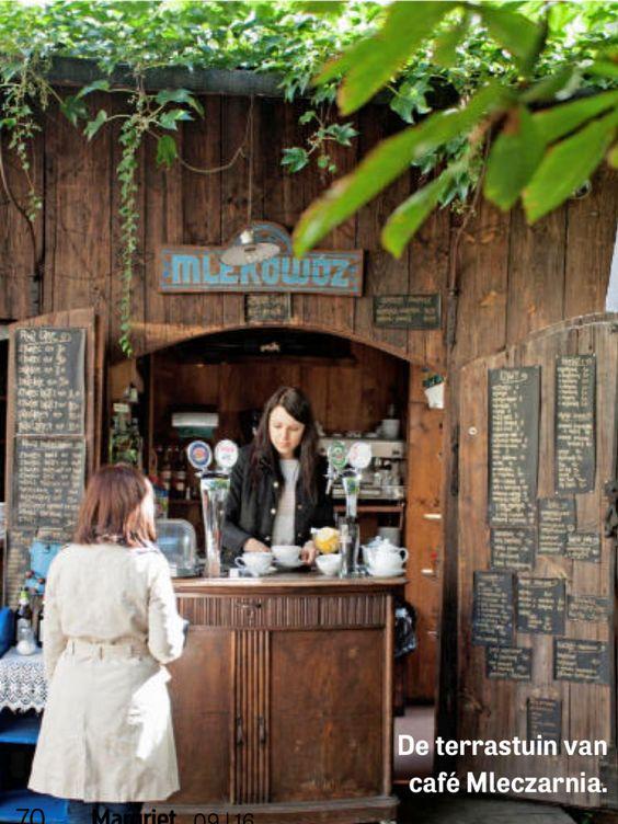 café mleczarnia - krakau poland