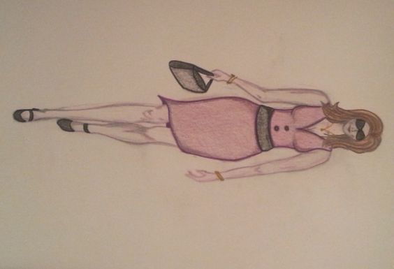 SeNi Fashion #5 Purple Dress