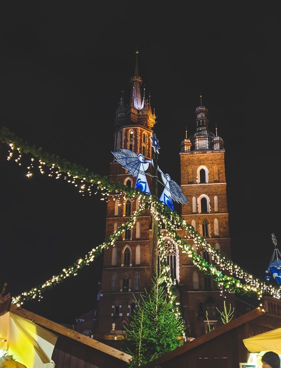 Christmas Celebration #Krakow #cracow #travel #Europe #Poland #ChristmasMarket #ChristmasCelebration #ChristmasDecoration