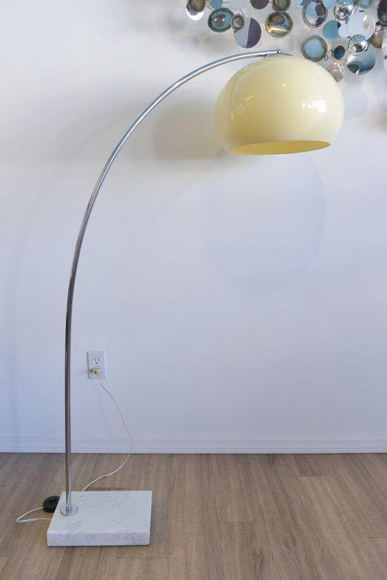 italian arc floor lamp - Google Search