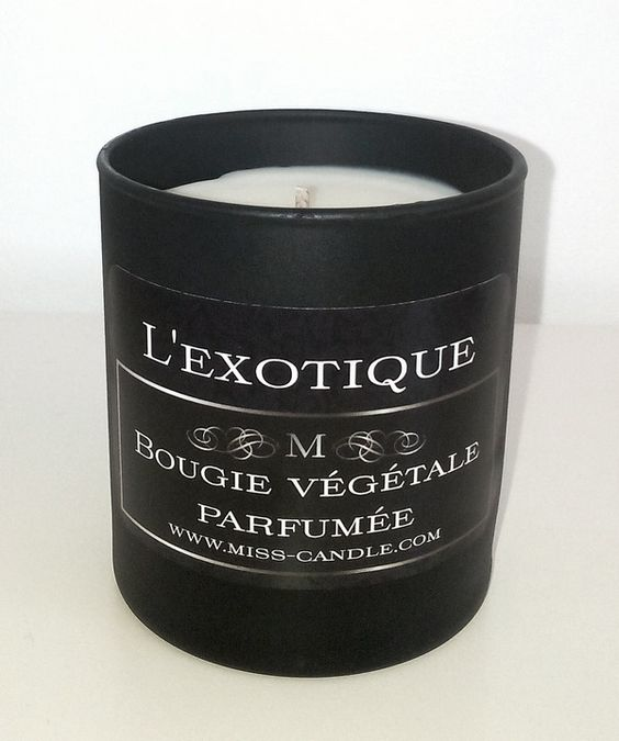 Bougie parfumée L'exotique : Luminaires par miss-candle
