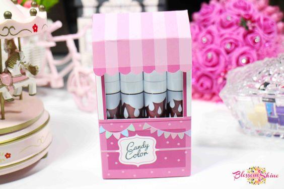 Candy Color Matte Lip Color