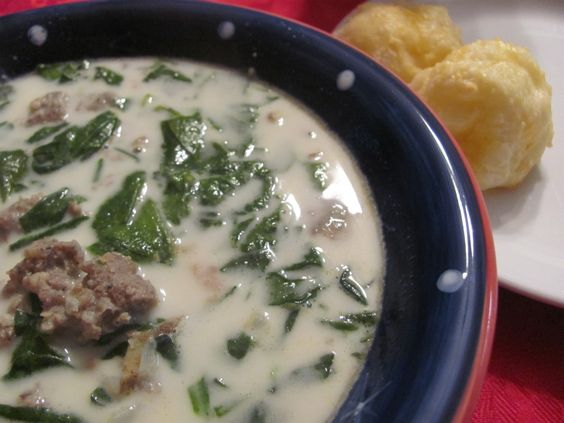 Homemade Zuppa Toscana Soup - Olive Garden copycat recipe