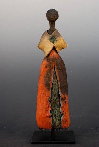 Etiyé DIMMA POULSEN Femme au poncho