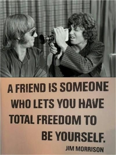 words of: jim morrison may you all be so lucky to have ...