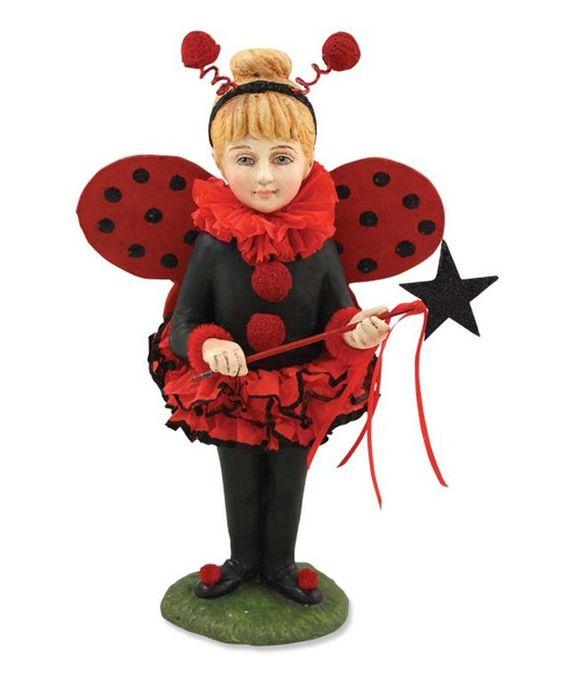 Bethany Lowe Little Halloween Ladybug Figurine TD2306 Victorian Decor #BethanyLowe