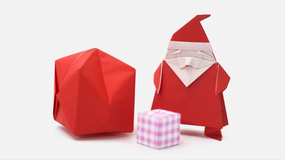 How to make an origami Santa Claus Designed by Jo Nakashima & Camila Zeymer (07/Nov/2015) Support my channel! https://www.patreon.com/jonakashima Difficulty ...