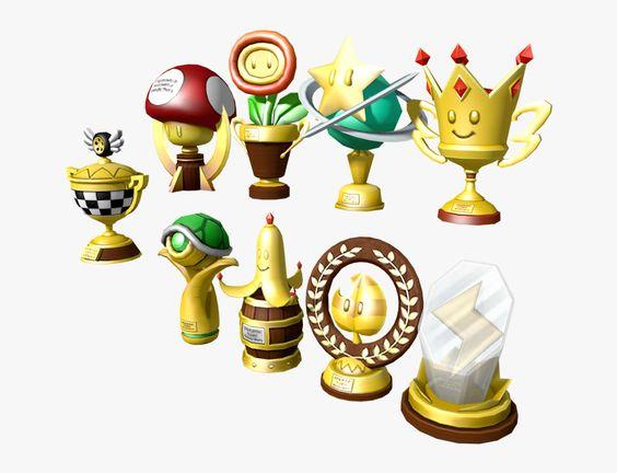 Download Zip Archive Super Mario Kart Trophy Hd Png Download Super Mario Kart Mario Kart Super Mario