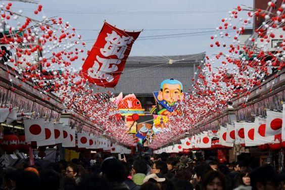Tết cổ truyền Nhật Bản hay gọi là Oshogatsu