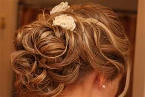 Good wedding hair?