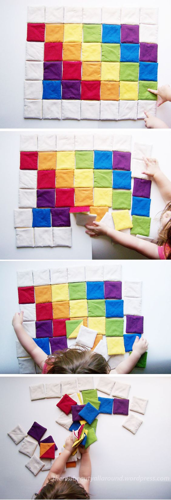 Tutorial: Tangram-esque Fabric Puzzle | Beauty All Around:
