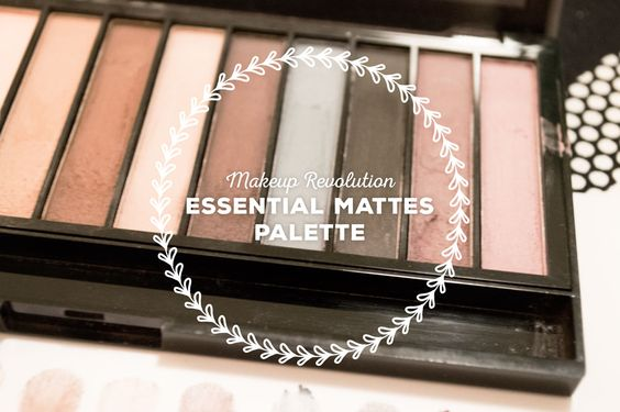 Review: Makeup Revolution Essential Mattes Palette [german & english] on http://www.styrianbeautyblog.com/