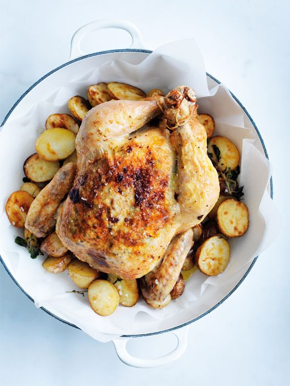 Preserved Lemon and Oregano Roasted Chicken in my latest ...