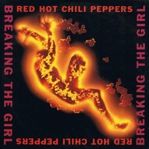 Red Hot Chili Peppers – Breaking the Girl (single cover art)