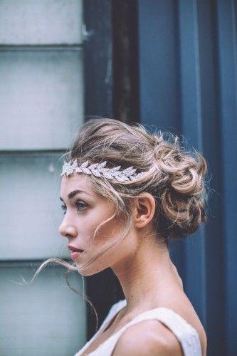 chignon avec autre headband lorafolk