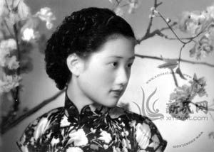 Zhou Xuan, a famous 1920s film star