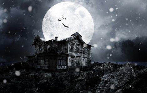 Imagen gratis de Casa embrujada, en HD.