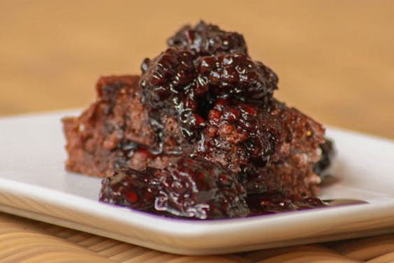 Grilled Mascarpone on Chocolate Cherry Bread with Cabernet Compote ...