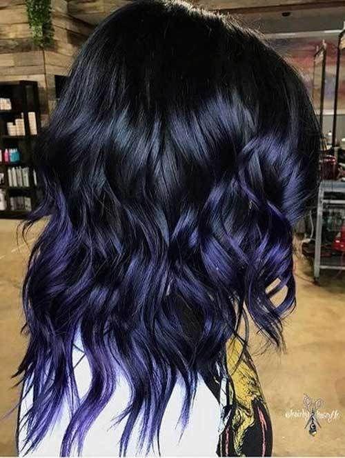 32++ Midnight purple dark purple short hair ideas in 2021