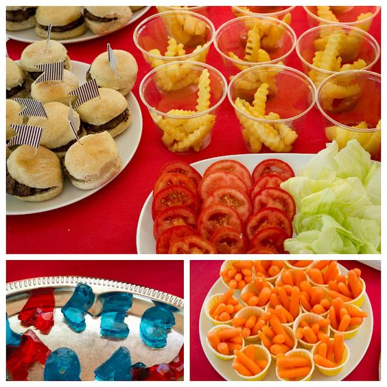 A Is For Alec Abc 1st Birthday Kid Minis And Mini Burgers